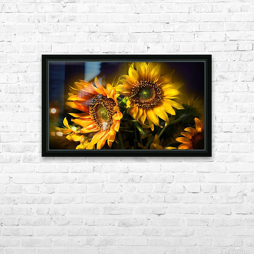 Little Suns HD Sublimation Metal print with Decorating Float Frame (BOX)