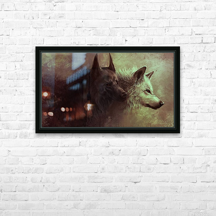 Call Of The Wild  HD Sublimation Metal print with Decorating Float Frame (BOX)