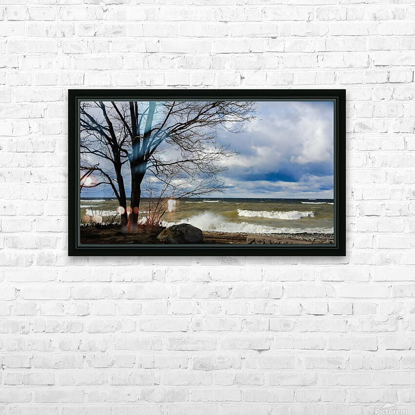 After the Storm HD Sublimation Metal print with Decorating Float Frame (BOX)