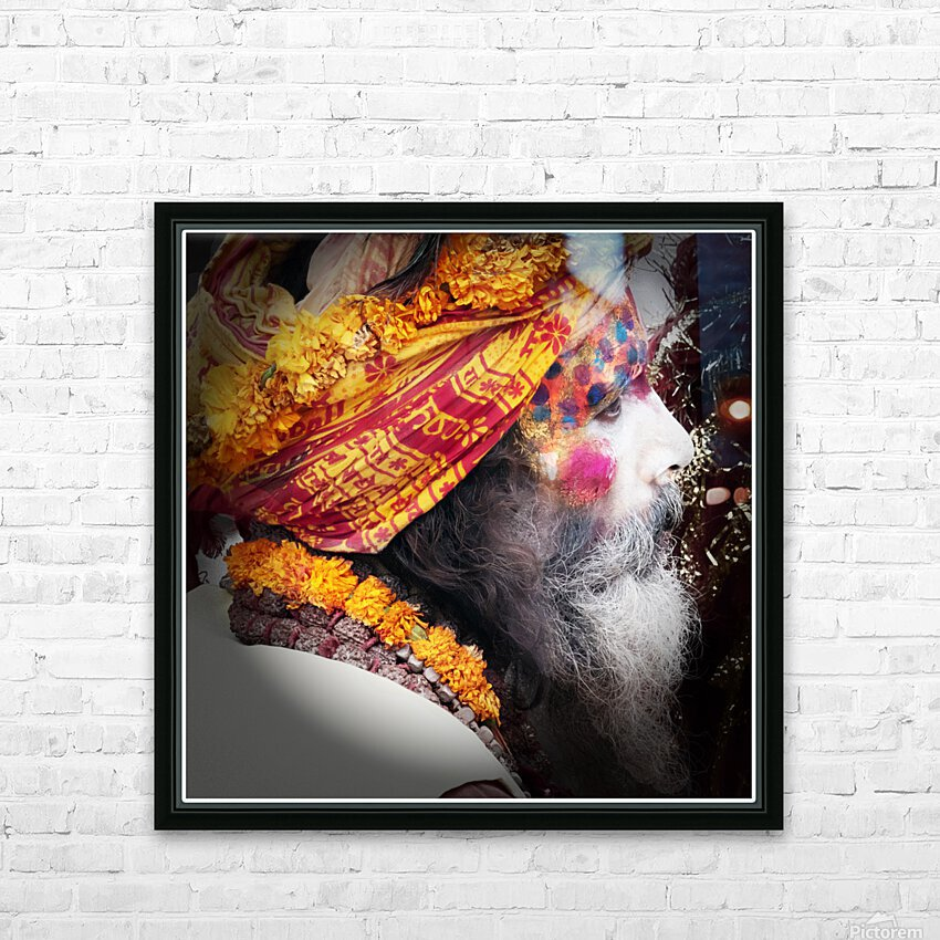 Priest India HD Sublimation Metal print with Decorating Float Frame (BOX)