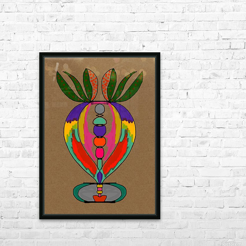 My Special Flower HD Sublimation Metal print with Decorating Float Frame (BOX)