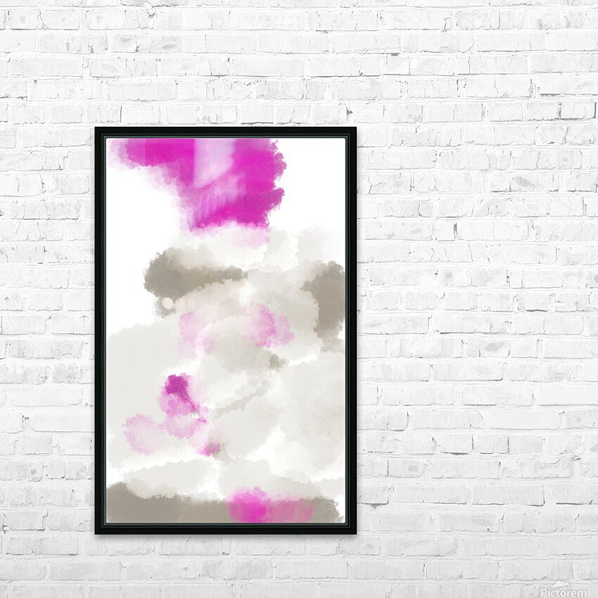 ABSTRACT PAINTING 03 HD Sublimation Metal print with Decorating Float Frame (BOX)