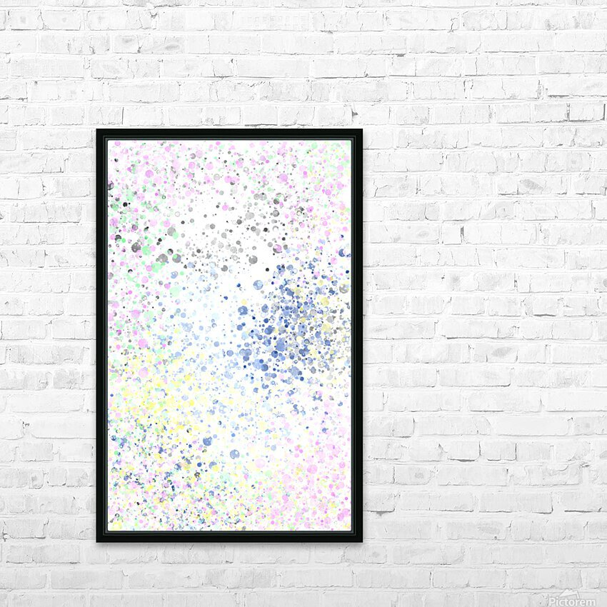 ABSTRACT PAINTING 40 HD Sublimation Metal print with Decorating Float Frame (BOX)