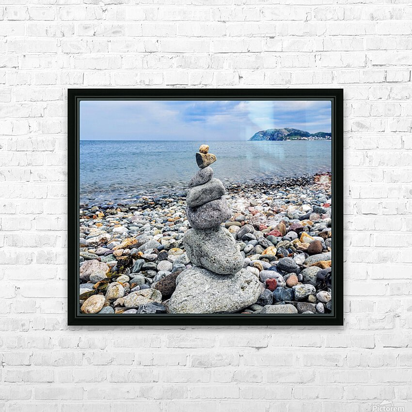 Llandundo beach HD Sublimation Metal print with Decorating Float Frame (BOX)