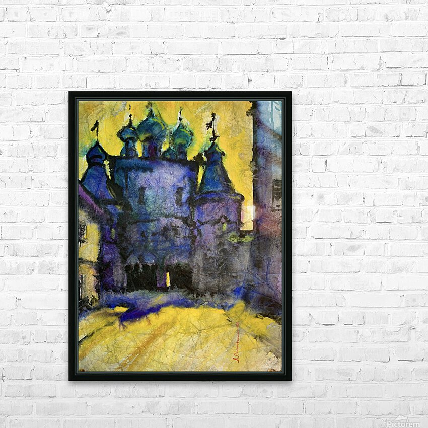 Monastery HD Sublimation Metal print with Decorating Float Frame (BOX)