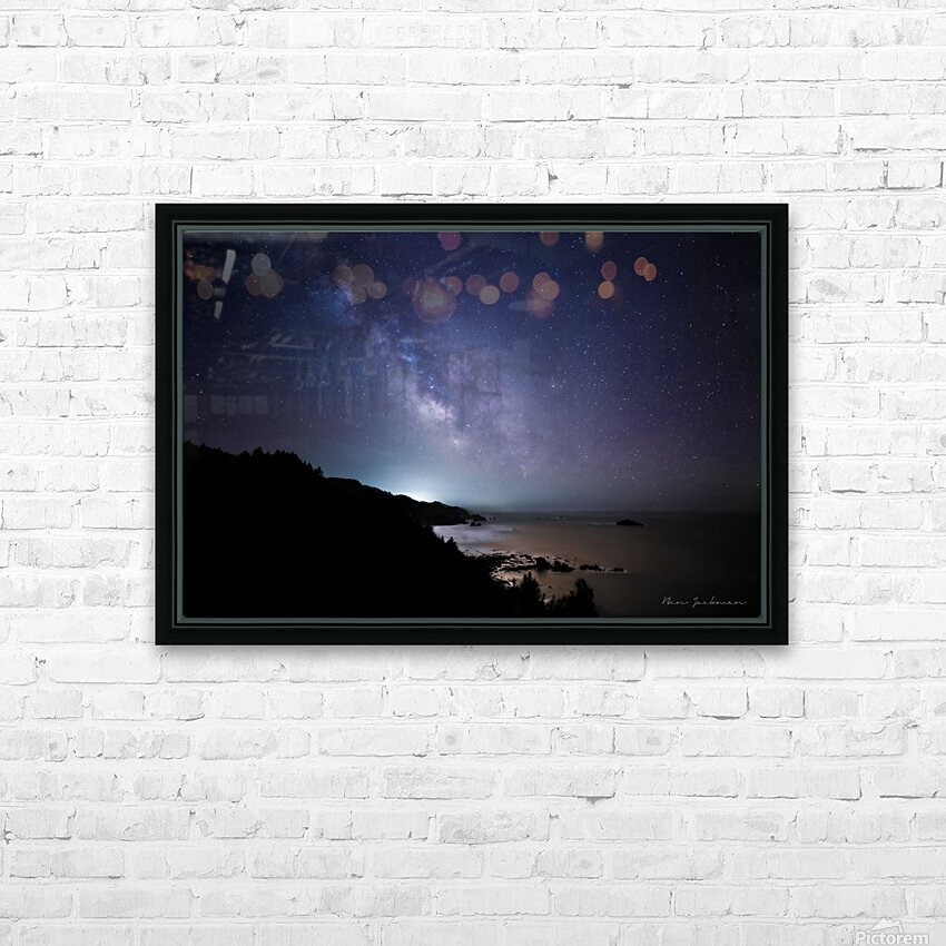 Midnight Horizons HD Sublimation Metal print with Decorating Float Frame (BOX)