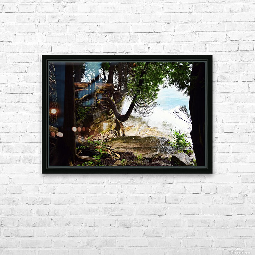 Enchanted Embankment HD Sublimation Metal print with Decorating Float Frame (BOX)