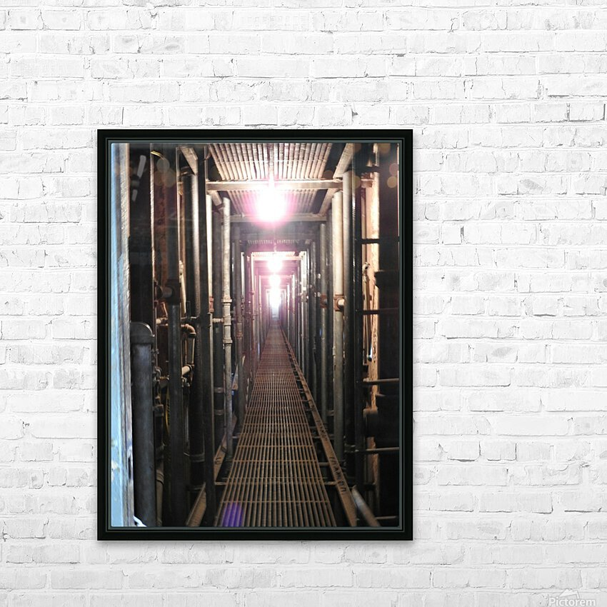 Plumbers Nightmare HD Sublimation Metal print with Decorating Float Frame (BOX)