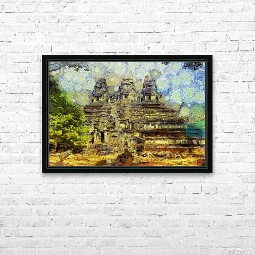 CAMBODIA 128 Angkor Wat  Siem Reap VincentHD HD Sublimation Metal print with Decorating Float Frame (BOX)