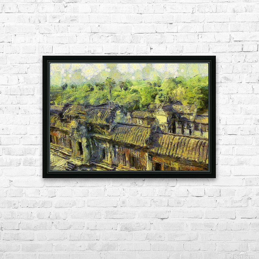 CAMBODIA 132 Angkor Wat  Siem Reap VincentHD HD Sublimation Metal print with Decorating Float Frame (BOX)