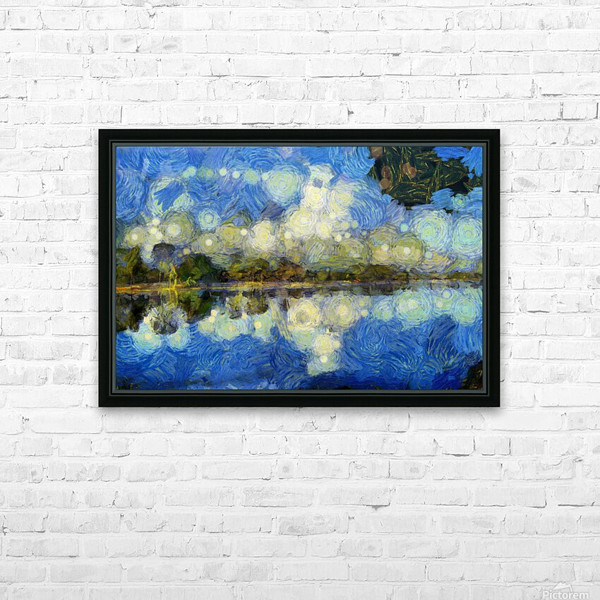 CAMBODIA 139 Angkor Wat  Siem Reap VincentHD HD Sublimation Metal print with Decorating Float Frame (BOX)