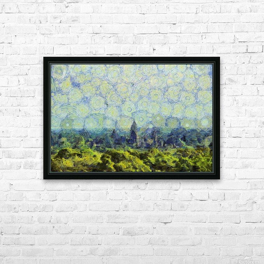 CAMBODIA 127 Angkor Wat  Siem Reap VincentHD HD Sublimation Metal print with Decorating Float Frame (BOX)