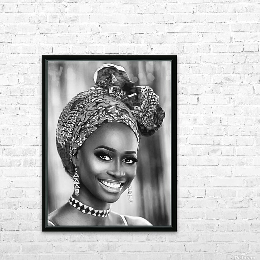 africa 1 HD Sublimation Metal print with Decorating Float Frame (BOX)