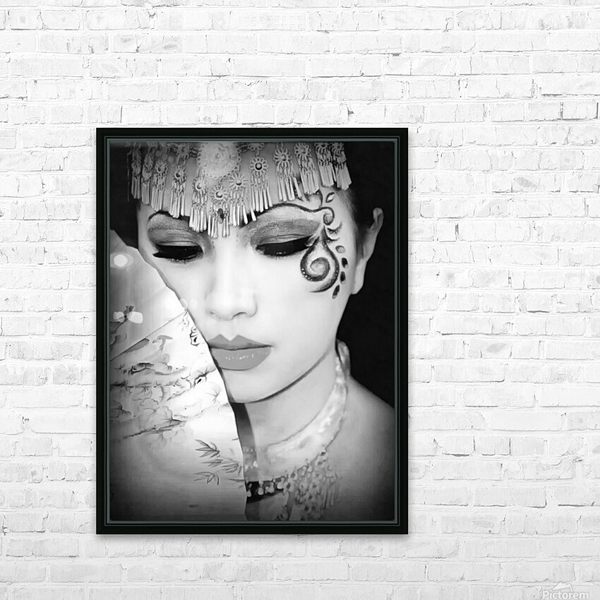 asia 1 HD Sublimation Metal print with Decorating Float Frame (BOX)