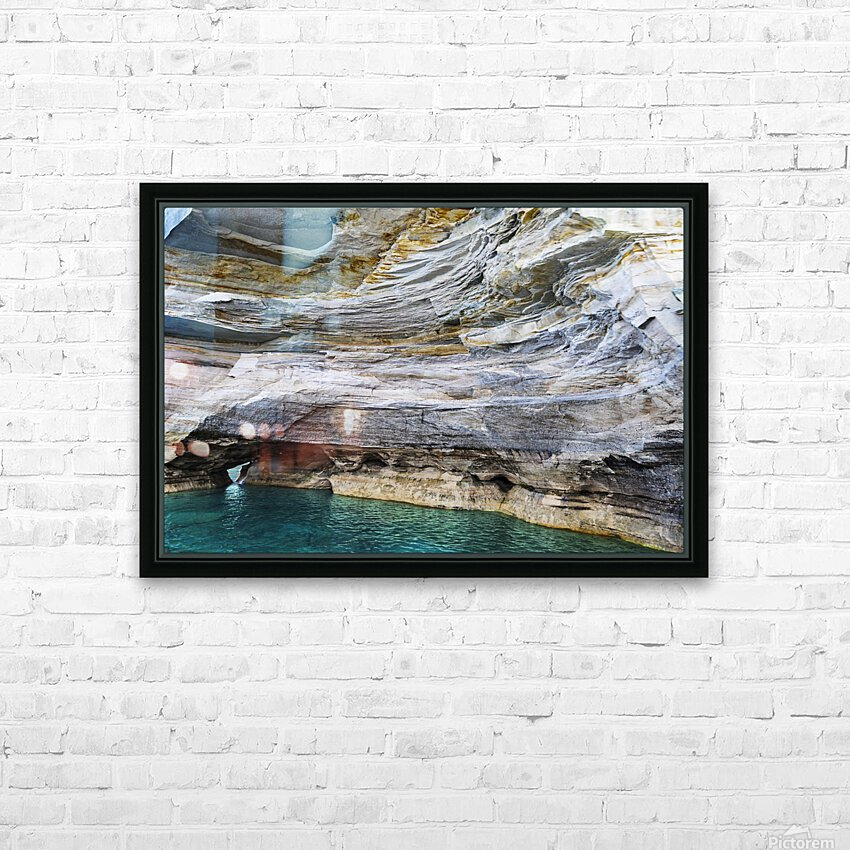 Vertical Vision HD Sublimation Metal print with Decorating Float Frame (BOX)