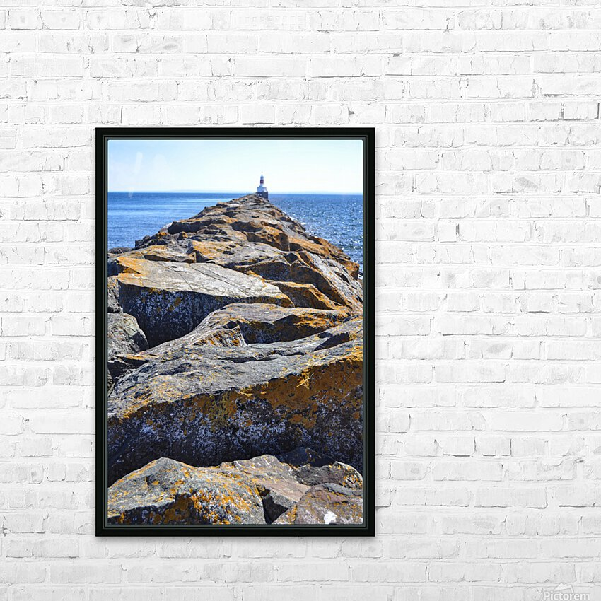 The Pier HD Sublimation Metal print with Decorating Float Frame (BOX)