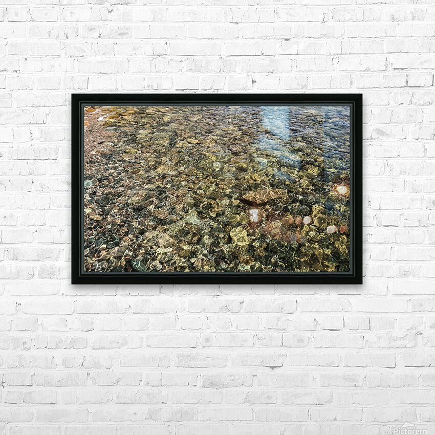 Rocky Reflection HD Sublimation Metal print with Decorating Float Frame (BOX)