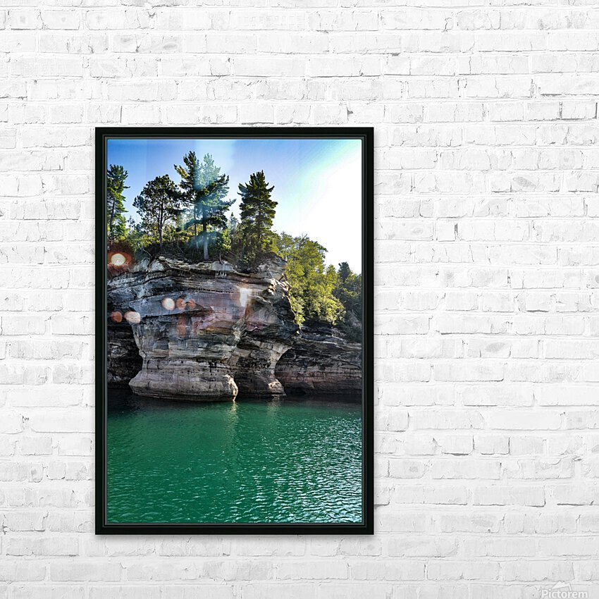 0720 HD Sublimation Metal print with Decorating Float Frame (BOX)