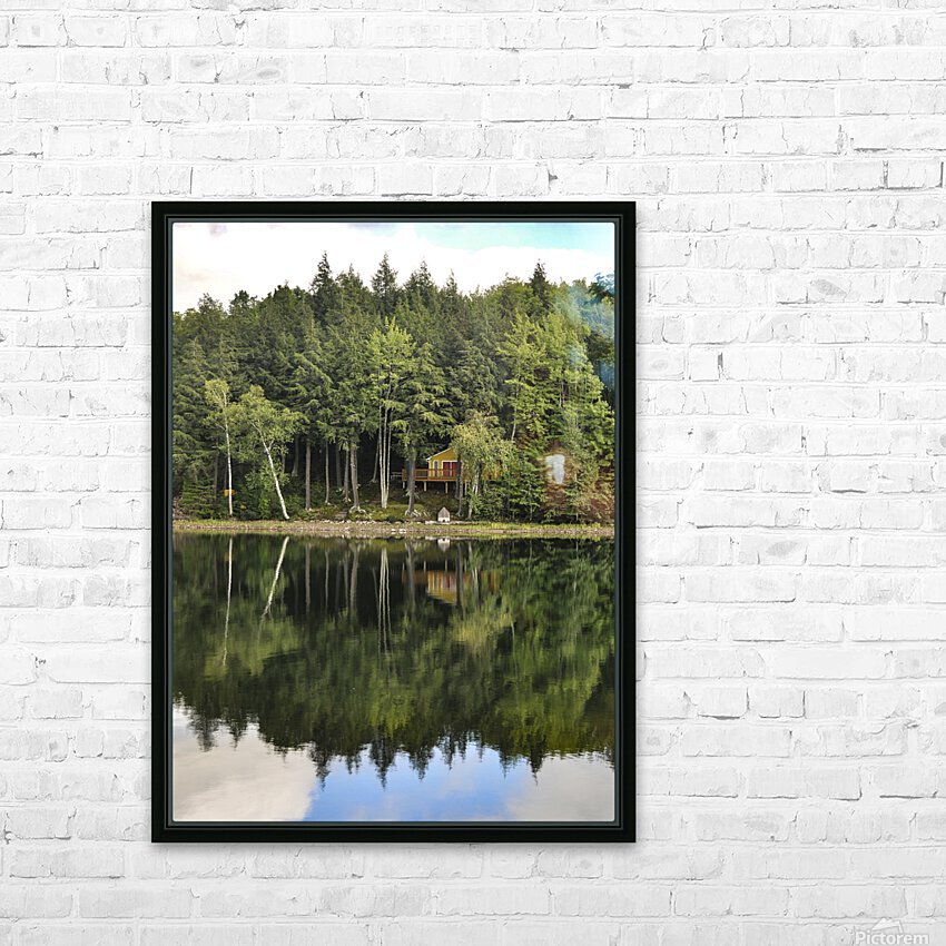 The Reflection HD Sublimation Metal print with Decorating Float Frame (BOX)