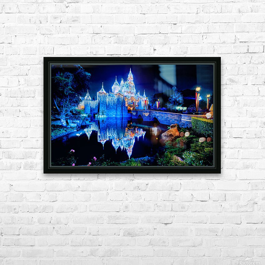 Disney Magic HD Sublimation Metal print with Decorating Float Frame (BOX)