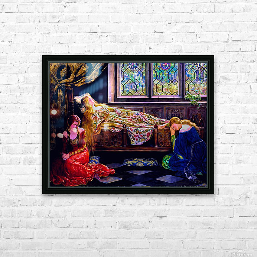 Aurora HD Sublimation Metal print with Decorating Float Frame (BOX)