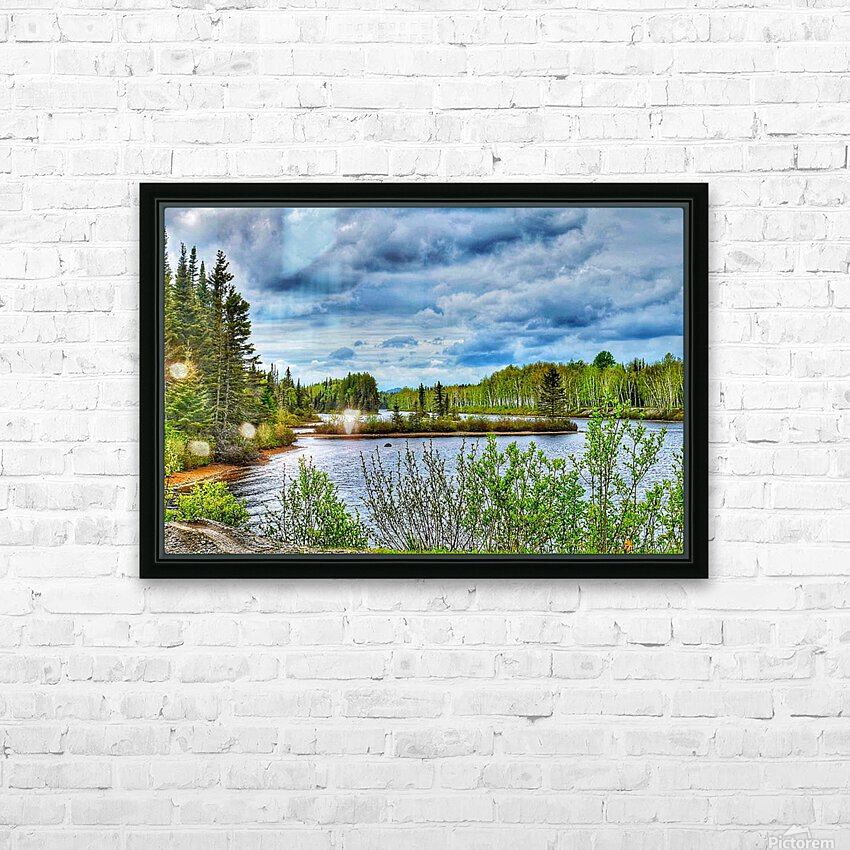Carte postale HD Sublimation Metal print with Decorating Float Frame (BOX)