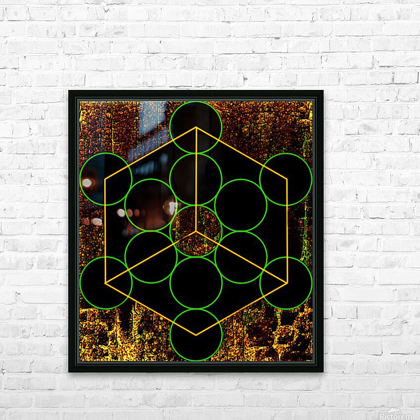 Experiments with Geometry 3 HD Sublimation Metal print with Decorating Float Frame (BOX)