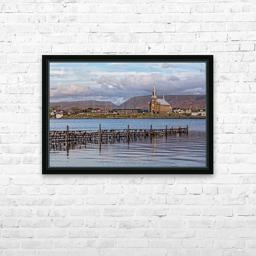 Cheticamp - A placed called home. HD Sublimation Metal print with Decorating Float Frame (BOX)