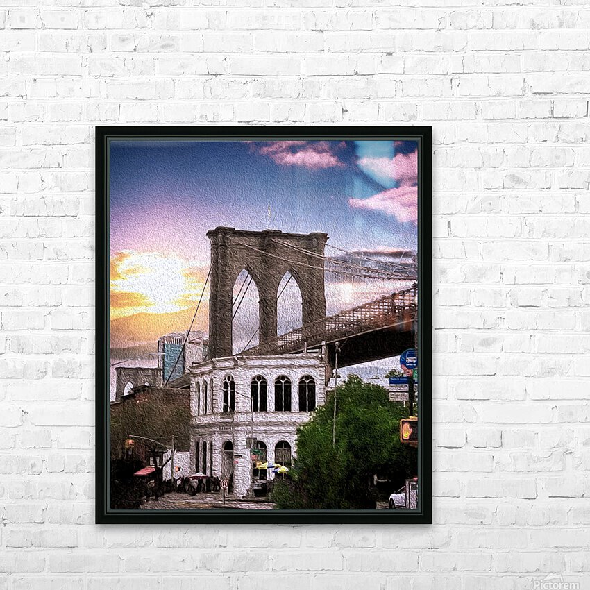 Dumbo HD Sublimation Metal print with Decorating Float Frame (BOX)