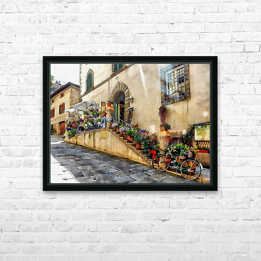 Floral Display Cortona HD Sublimation Metal print with Decorating Float Frame (BOX)