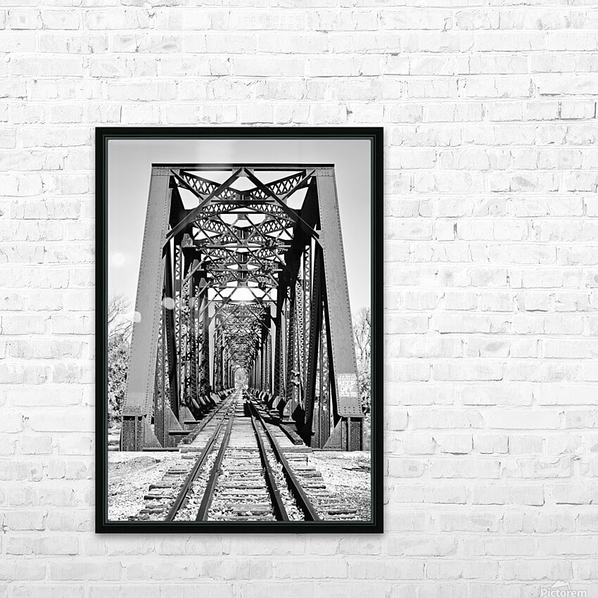 The Trestle HD Sublimation Metal print with Decorating Float Frame (BOX)
