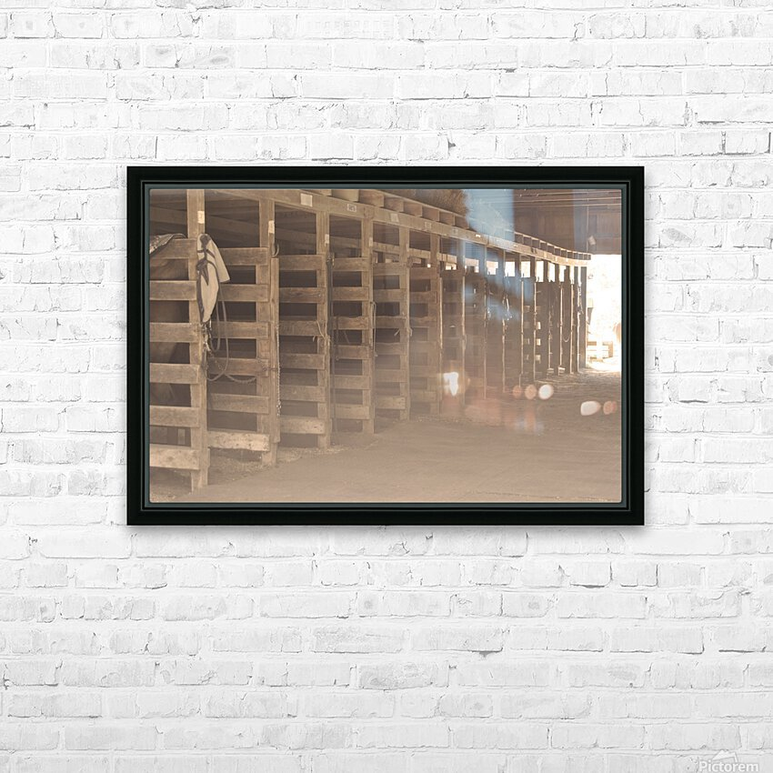 0060 HD Sublimation Metal print with Decorating Float Frame (BOX)