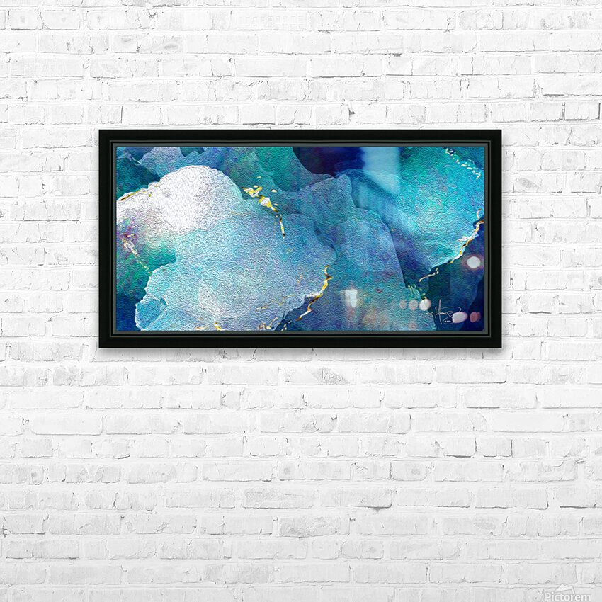 TheDeep HD Sublimation Metal print with Decorating Float Frame (BOX)