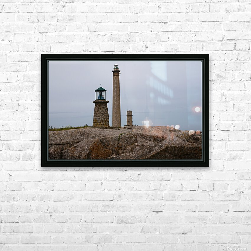 Architecture marine Light house HD Sublimation Metal print with Decorating Float Frame (BOX)