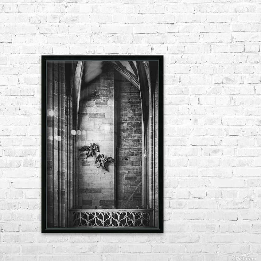 Gothic angels HD Sublimation Metal print with Decorating Float Frame (BOX)