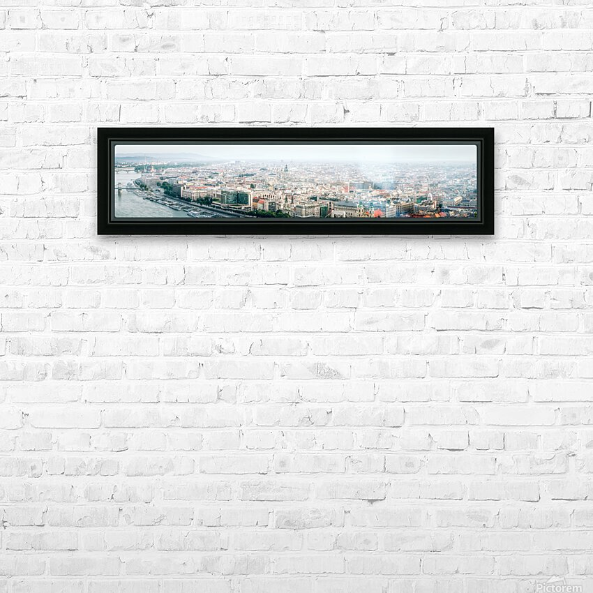 Budapest panorama HD Sublimation Metal print with Decorating Float Frame (BOX)