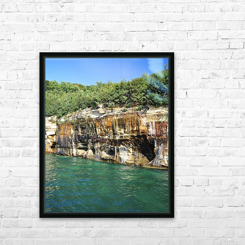 0222 HD Sublimation Metal print with Decorating Float Frame (BOX)