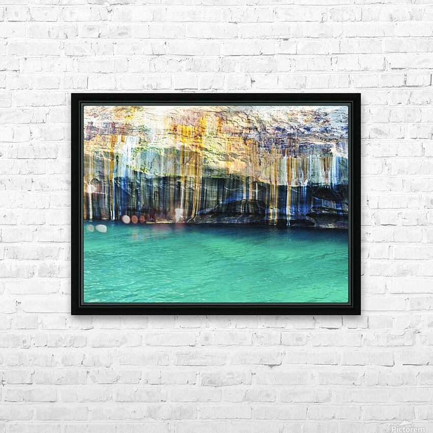 0214 HD Sublimation Metal print with Decorating Float Frame (BOX)