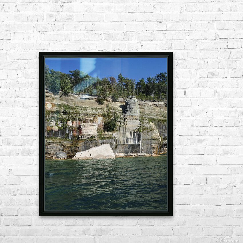 0234 HD Sublimation Metal print with Decorating Float Frame (BOX)