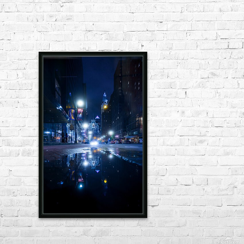 Mirrorverse HD Sublimation Metal print with Decorating Float Frame (BOX)