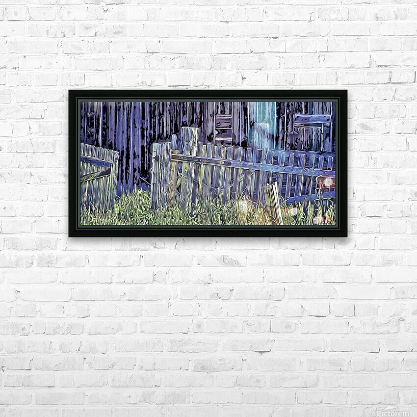Forsaken Barnyard HD Sublimation Metal print with Decorating Float Frame (BOX)