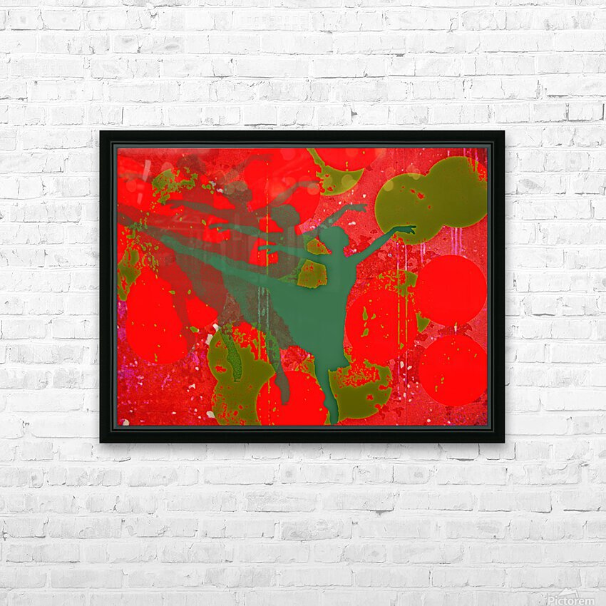 Dancing in a Dream HD Sublimation Metal print with Decorating Float Frame (BOX)