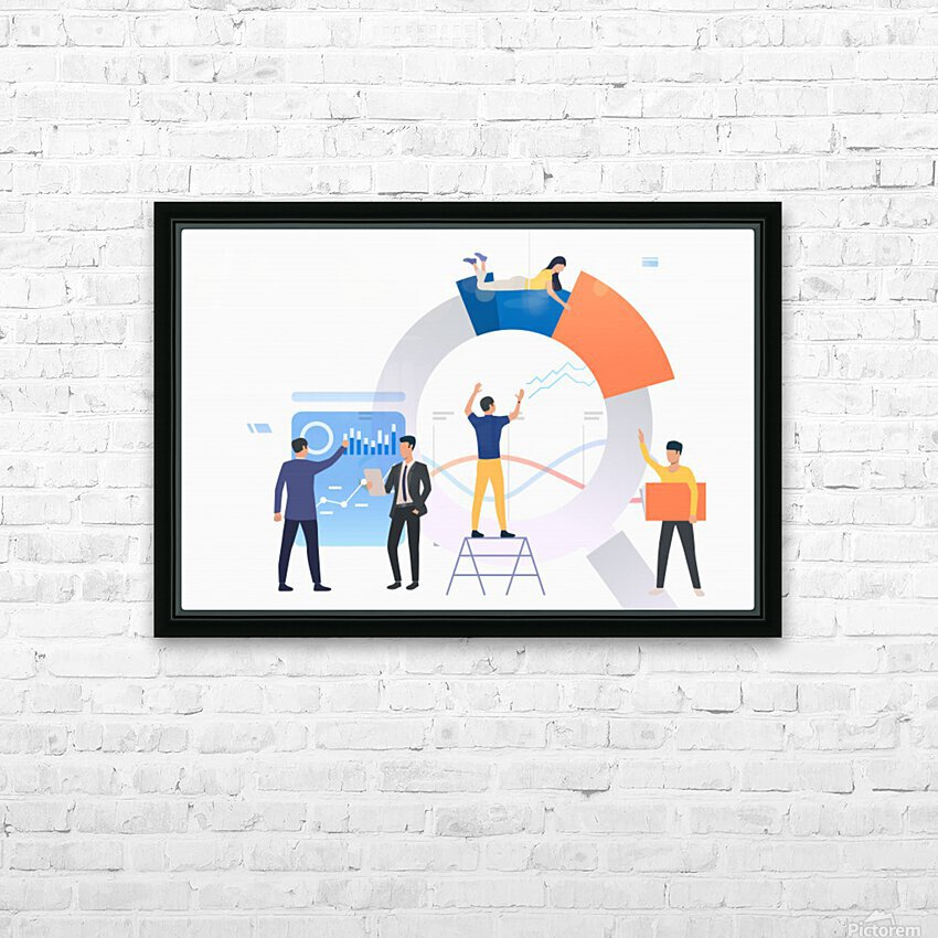SEO Company Melbourne HD Sublimation Metal print with Decorating Float Frame (BOX)
