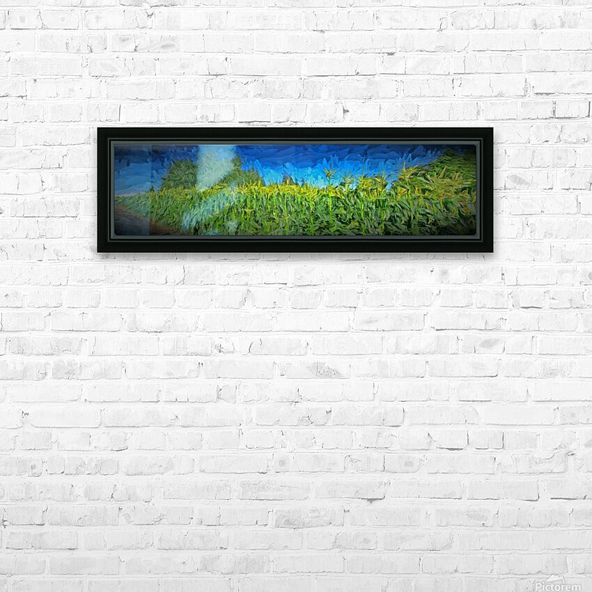 Summer Corn HD Sublimation Metal print with Decorating Float Frame (BOX)