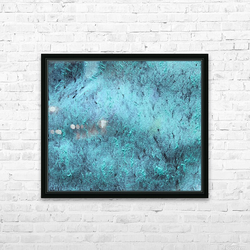 Ocean HD Sublimation Metal print with Decorating Float Frame (BOX)
