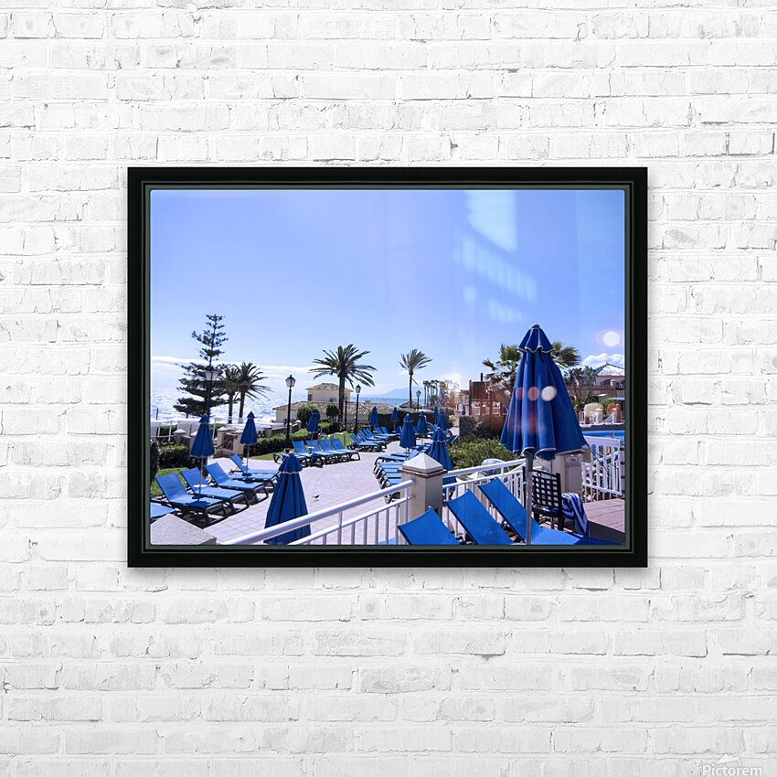 Costa del Sol Andalusia Spain 3 of 4 HD Sublimation Metal print with Decorating Float Frame (BOX)