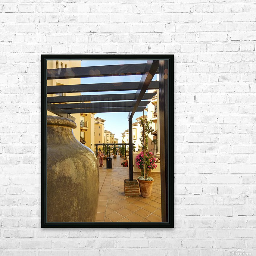 Costa del Sol Andalusia Spain 1 of 4 HD Sublimation Metal print with Decorating Float Frame (BOX)