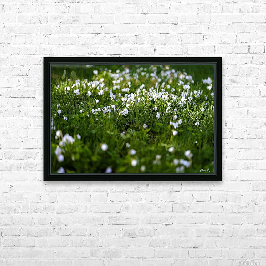 Confettis au jardin 3 HD Sublimation Metal print with Decorating Float Frame (BOX)