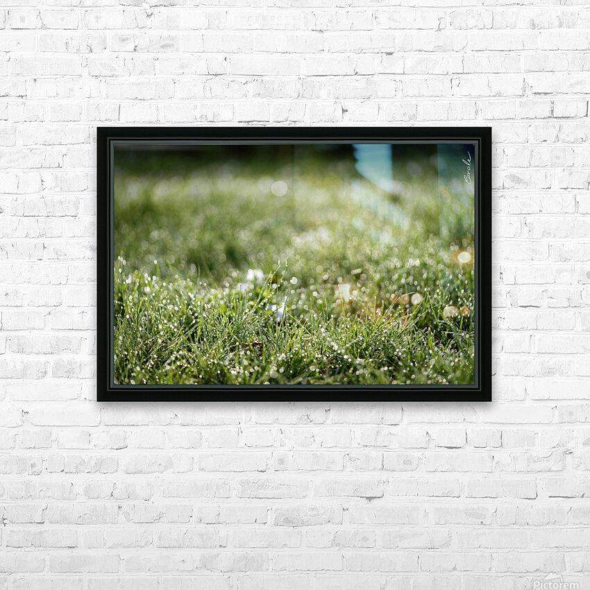 Confettis au jardin 1 HD Sublimation Metal print with Decorating Float Frame (BOX)