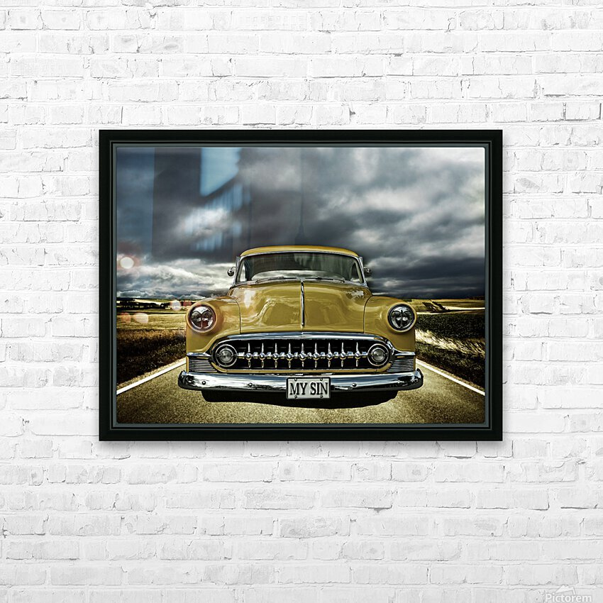 1953 Chevrolet HD Sublimation Metal print with Decorating Float Frame (BOX)